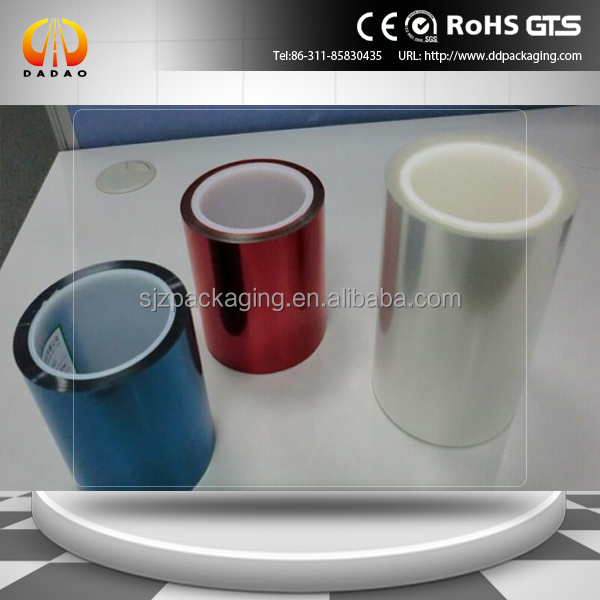 bule,Green,Yellow,Transparent Colorful Silicone Coated Pet Release film