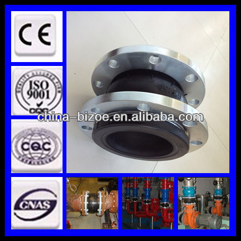 high quality galvanized din floating flange rubber expansion joints