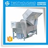 Large Coal-Fired Automatic Tilting Deep Fryer Oil Filter Machine