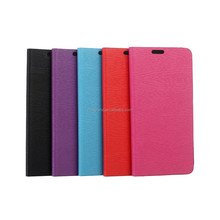 Leather card slot wallet case flip cover pouch for HTC Desire 826