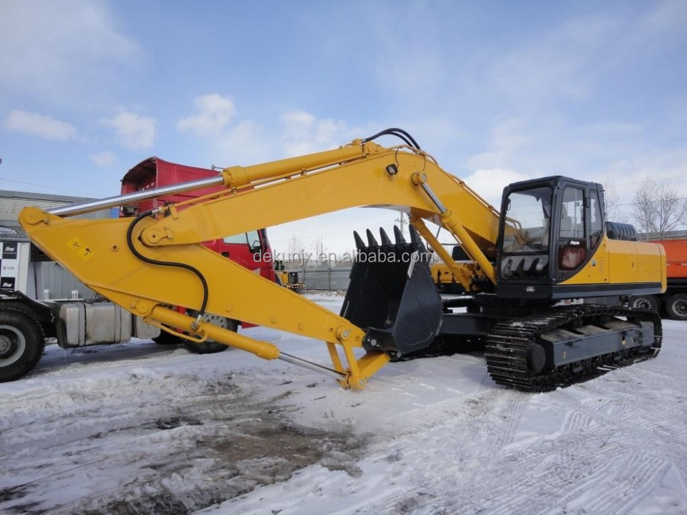 Earth Moving Excavation Equipment 20 Ton Tracked Excavator Diggers For Sale