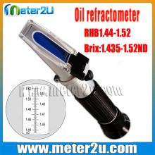 Handheld Oil refractometer with refractive index 1.435-1.520nd