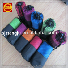 super asorbtion Micro Fiber Beach Sports Travel Towel Set Fabric Roll Microfiber Towel with mesh bag