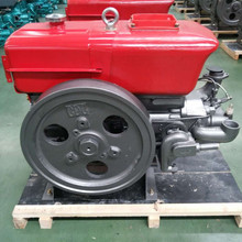 ZS1110 single cylinder 4 stroke water cooled diesel engine 15HP