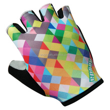 AOGDA Summer Bike Glove Custom Excellent Quality Half Finger Racing Gloves For Cycling Sport