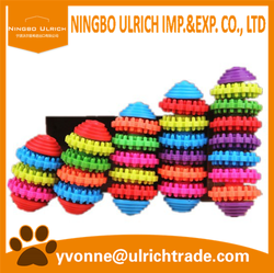 WP02 hot sale colorful soft rubber pet dog toys