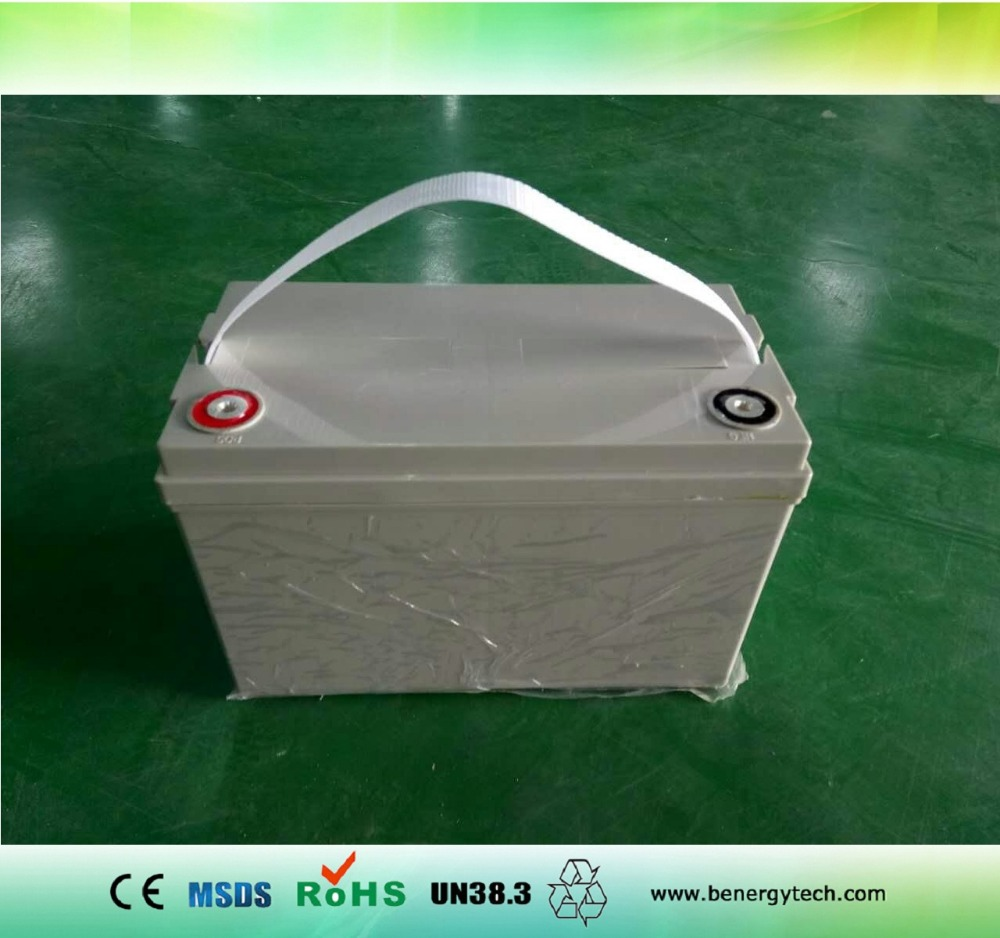 12V 120AH deep cycle lithium ion battery with high quality