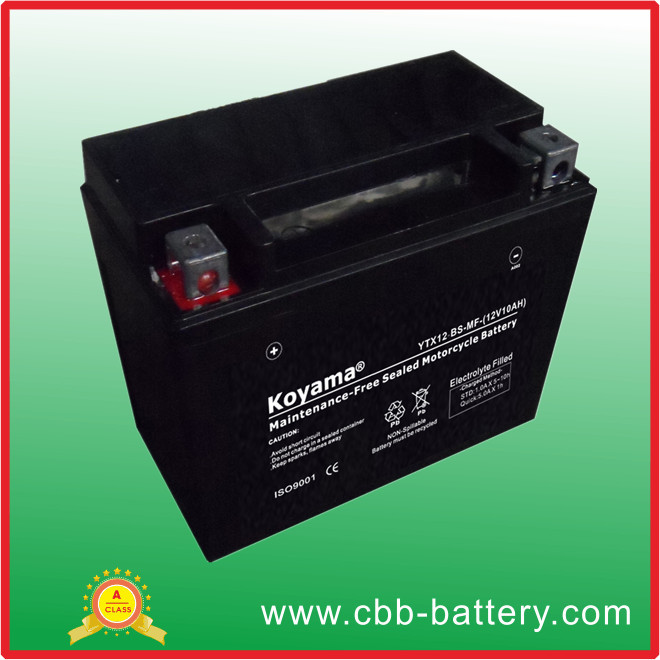 China factory 12V Electric motorcycle battery YTX12-BS