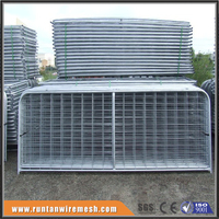 Factory,ISO9001 galvanized steel farm gate for sale