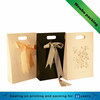 luxury fancy gift paper bag with silk ribbon