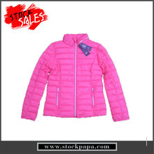 Brand name cheap price simple design ladies winter coats