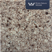 multi-color artificial quartz stone slab/countertop/vanity top/tile (WG346)