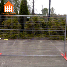Galvanized iron plate canada temporary event fence panels hot sale