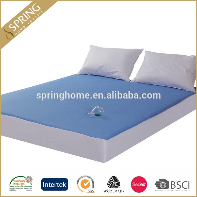 anti radiation full pu laminated 3D mesh mattress protector cover