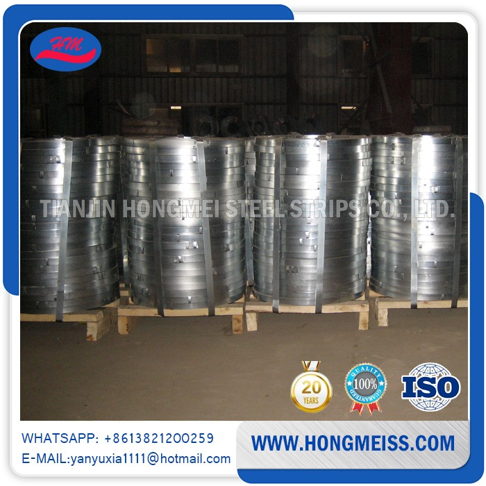 Factory price Regular spangle Hot dipped Electric galvanized steel strip