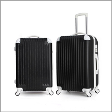 2016 hot popular china clean abs classical side portable trolley luggage