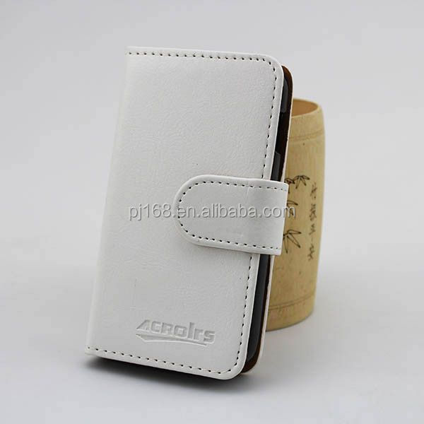 factory price phone cases wallet leather cover case for Konka V850