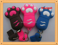 16GB Novelty Cartoon cute design/Bear Paws USB Flash drive with full capacity and high quality