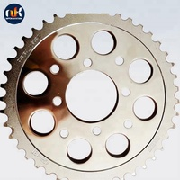 1045 Steel 428-15T Bajaj Discover 150 Chain Sprocket