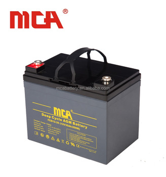 Good quality 12Volt 35Ah deep cycle battery for ups battery backup