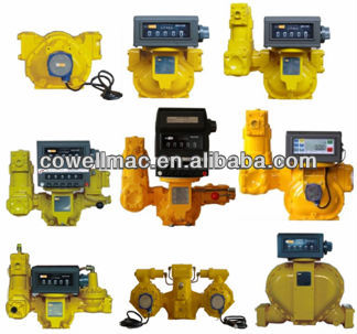 2016 bulk fuel flow meter for diesel fuel , fuel oil flow meter