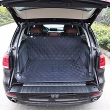 High Quality Polyester Fabric Pet Car Trunk Cover
