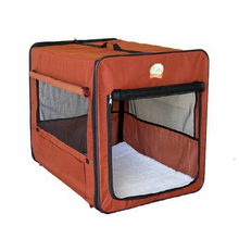 600D oxford collapsible puppy dog kennel cage house cat bed