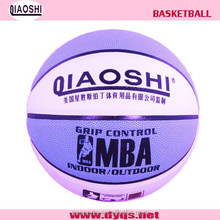 2015 popular Size 7 laminated PVC basketball for sales