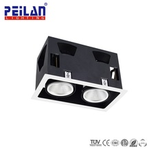Lifud Driver Recessed Square COB Led Surface Mount Up Down Light LED Ceiling Light