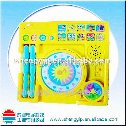 hot sale ABS music instrument toys for kid's learning and playing