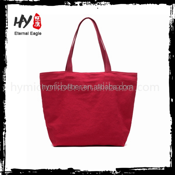 Popular designed striped plain canvas tote bags for <strong>promotion</strong>