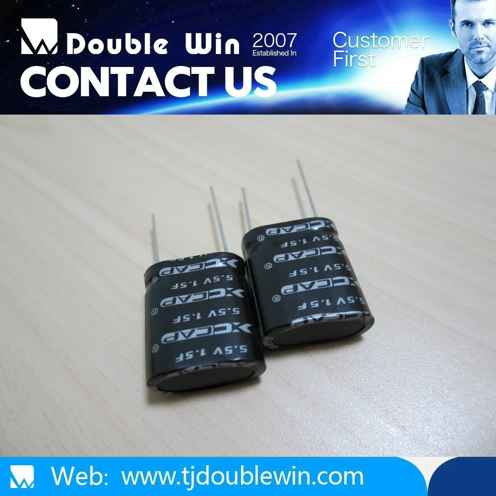 Good products 5.5V1.0F cyclinder Supercapacitor Ultra Capacitor EDLC China