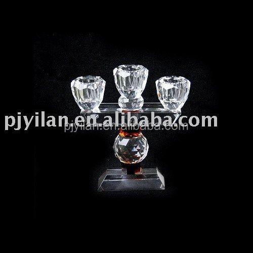 elegant high quality crystal candlestick cheap candelabra