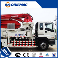 XCMG 52m new truck mounted concrete pump HB52 for sale