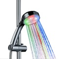 colors led light bathroom shower head 7 colors fast flashing8008-A16