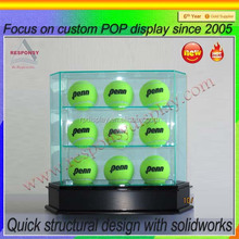 Transparent Acrylic Golf Ball Display Case and Holder