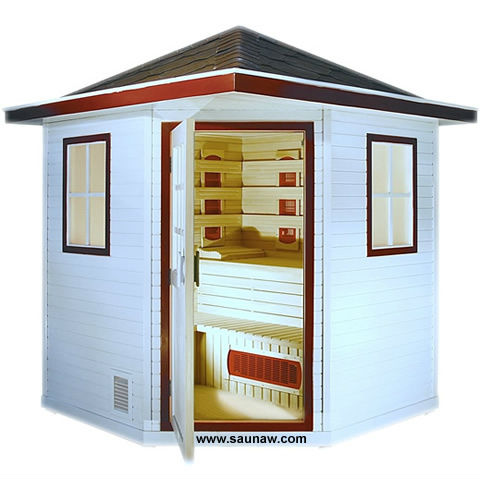 outdoor sauna house GW-OD05