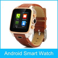 "1.54"" Aluminum stainless steel cover 300W camera bluetooth/GPS/WIFI 3G GSM Bluetooth Camera smart Watch"