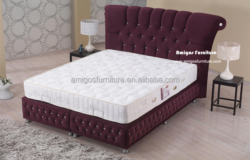 Luxury imported furniture beds buy doll furniture beds for Double bed new design