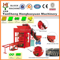 QTJ4-26 germany Semi -automatic concrete block making machine factory selling in Jamaica