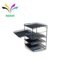 China manufacturer alibaba store retail metal display rack outdoor shoe rack waterproof