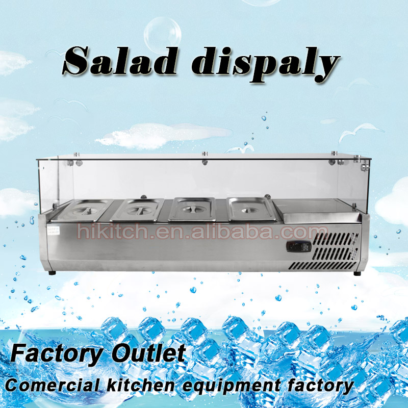 Commercial buffet display table Salad Bar for restaurant