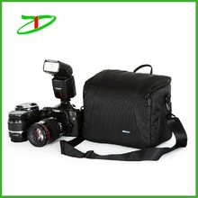2015 hot sale nylon classic black DSLR camera bag