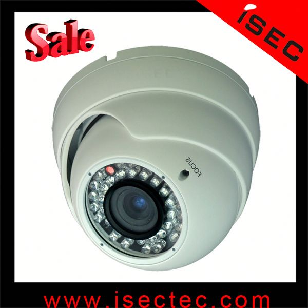Hot 36pcs Leds 30m IR Distance Color Day/Night Indoor/Outdoor Security CCD Dome Camera 700 Tvl