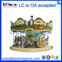 used kids outdoor entertainment equipment carousel for carnival