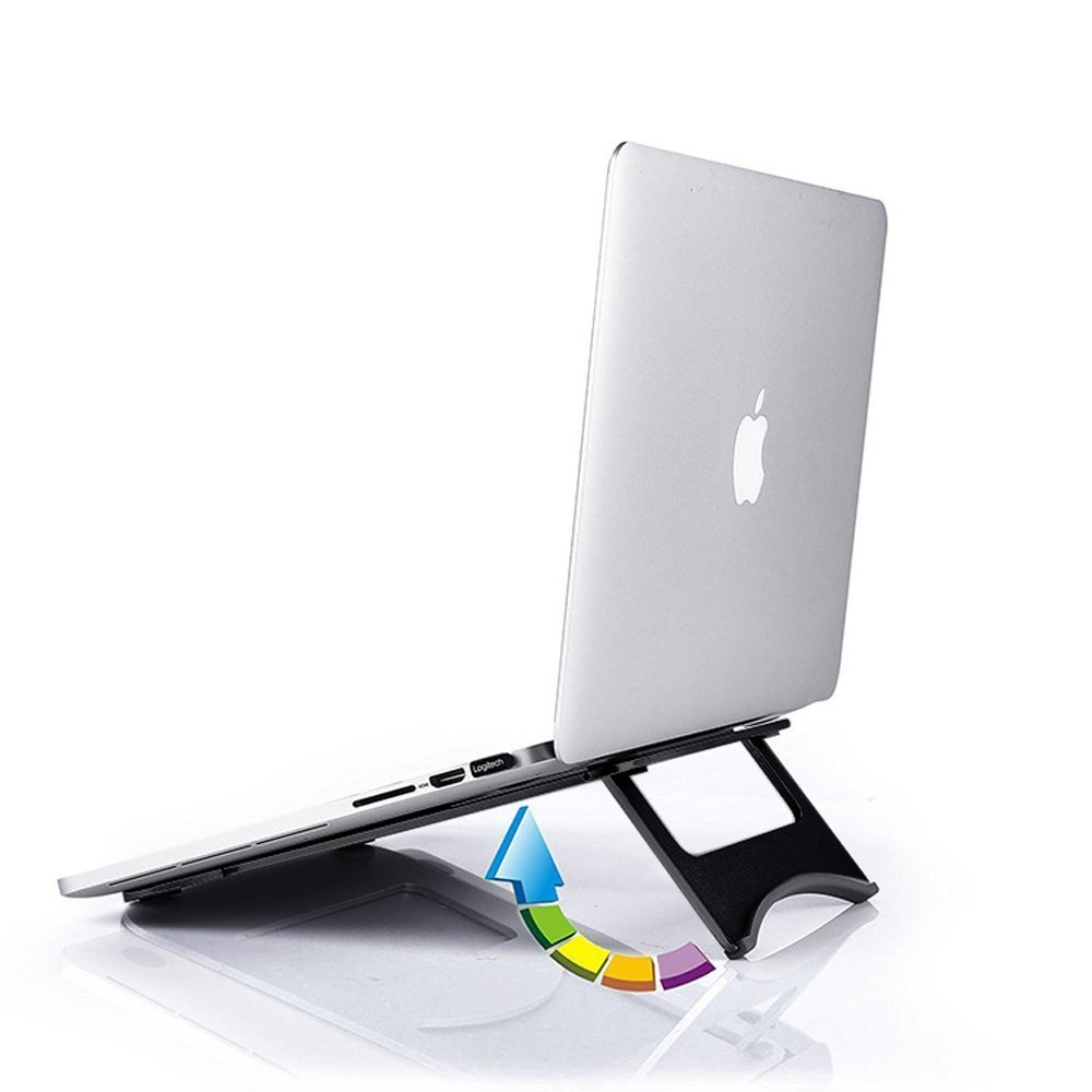 Portable desktop laptop angle stand computer rack for macbook air/pro