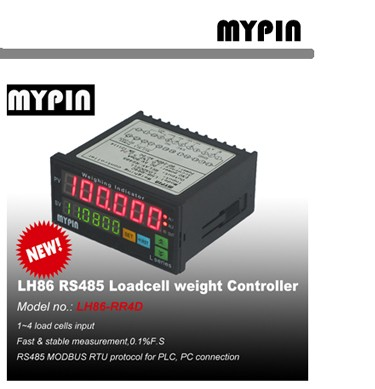 MYPIN brand Industrial RS485 Weighting Indicator(model:LH86-INN4D)