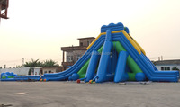 Giant Inflatable Floating Big Kahuna Adult Size Inflatable Water Slide