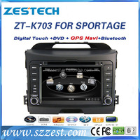ZESTECH 7 inch HD 1080P BT TV GPS for kia sportage 2014 car dvd car radio with gps