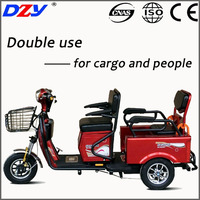 Environmental Electric Tricycles Three Wheel Motorcycle Automobile with CE